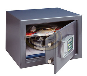 Széf elektromos, számkódos 255x350x300, 16,5kg BURGWACHTER P2E