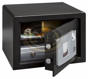 Széf elektromos, számkódos 180x280x200, 8,5kg BURGWACHTER P1E