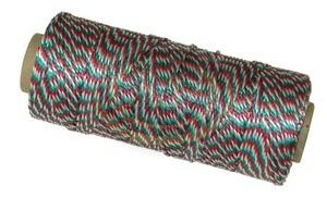 Nemzeti színű kötözőzsineg PP 100 méter (940/2x3)