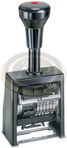 Sorszámozó bélyegző Reiner B6K önfestékező 6karakteres