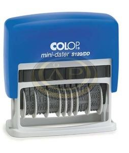 Dátumbélyegző COLOP S120/DD Mini Dupla Dátum