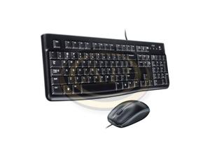 Billentyűzet+egér Logitech MK120 fekete, USB