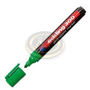 Filctoll 300 kerek alkoholos 1,5-3mm zöld Edding
