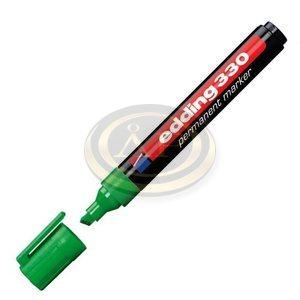 Filctoll 330 vágott alkoholos 1-5mm zöld Edding