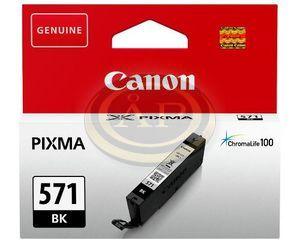 Tintapatron Canon CLI571B fekete