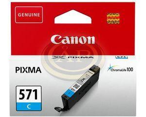Tintapatron Canon CLI571C kék