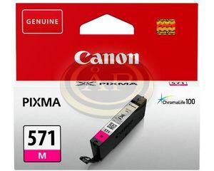 Tintapatron Canon CLI571M vörös
