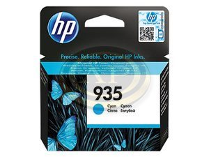 Tintapatron HP C2P20AE No.935, 400 oldal, kék