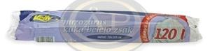 Hulladékgyűjtőzsák húzózáras 110/120 liter kb.700x1050mm 10db-os
