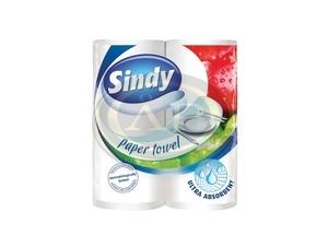 Konyhai papírtörlő 2 rétegű  50 lapos Sindy  2tek/csom