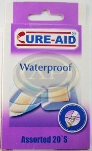 Cure-Aid sebtapasz 20db vízálló, légáteresztő