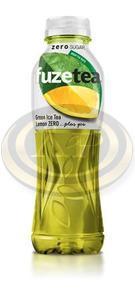 FuzeTea Zero üdítőital, zöld tea-citrom, 0,5l