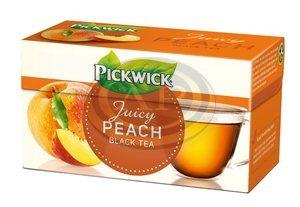 Tea Pickwick fekete tea, őszibarack ízzel 20x1,5gr