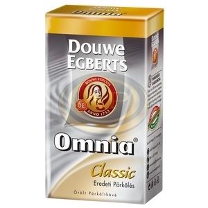 Kávé őrölt Douwe Egberts Omnia 250gr