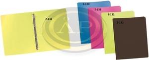 Gyűrűskönyv P+P A4 műanyag 2gyűrűs 20mm gerinccel, fekete / antracit