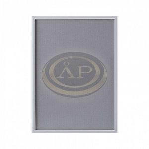 Plakátkeret alumínium A4 szögletes sarok, 25mm