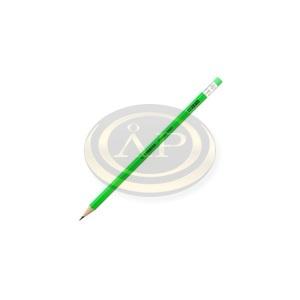 Grafitceruza Stabilo 4907 radíros HB neon zöld