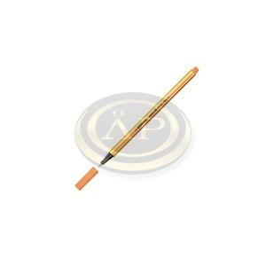 Tűfilc Stabilo Point 88 0.4 mm neon narancssárga