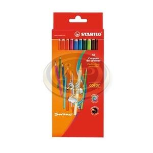 Színesceruza készlet Stabilo Swano Color 12 db-os