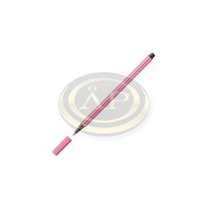 Rostirón Stabilo Pen 68 1.0 mm középrózsaszín