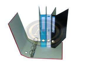 Gyűrűskönyv A4 2gyűrűs, 35mm gerinc, sárga