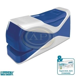 Elektromos tűzőgép Rapid 10BX Fixativ  kék max. 10 laphoz 5000295