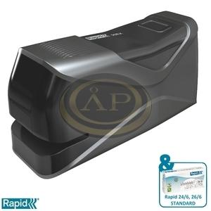 Elektromos tűzőgép Rapid 20EX Fixativ  fekete max. 20 laphoz 5000297