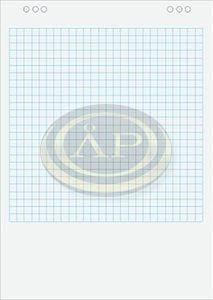 Flipchartpapír 59x81cm kockás