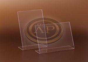 Laptok Laptartó A6 álló asztali, egyoldalas, plexi