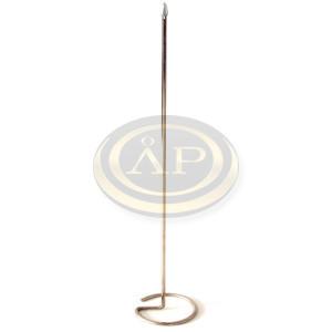 Asztali zászlótartó fém 44cm