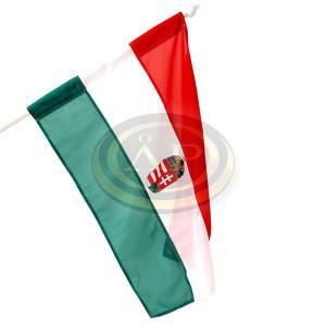 Zászló magyar címeres 60x90cm