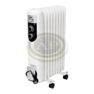 Home FKOS9 olajradiátor, 9 bordás, fehér