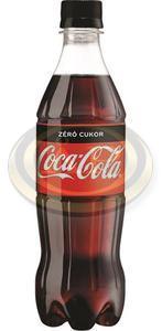 Üdítő Coca-Cola Zero 0,5L