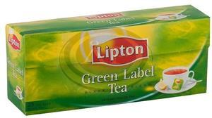 Tea Lipton GreenLabel 25x1,5g, fekete tea