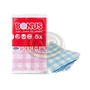 Bonus mosogatókendő, 5db-os, 45x38cm