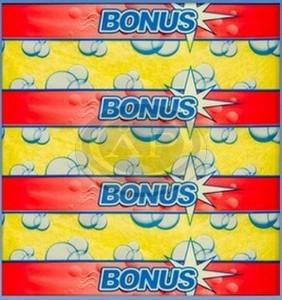 Bonus törlőkendő 3db-os