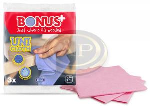 Bonus UNI törlőkendő 3db-os