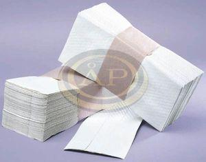Wepa Prestige 'Z' hajtású papírtörölköző, 2 rétegű, tissue fehér, 150db/csom