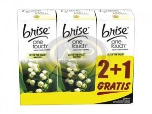 Légfrissítő Glade One Touch utántöltő gyöngyvirág illat, 3db/cs