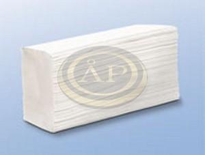 Wepa Prestige Kéztörlő Interfold hajtás 2r 100% fehér 21x24cm 200 lap/csomag