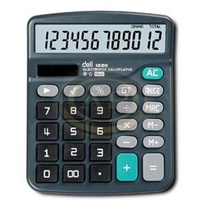 Deli 837/1238, 12dig. asztali számológép