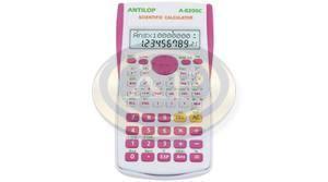 ANTILOP 8200C tudományos számológép. 2 soros kijelző 240 funkcióval pink