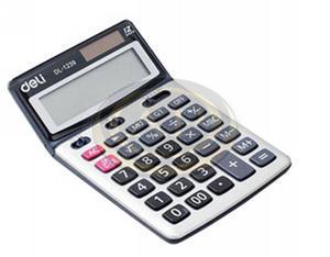 Deli 01239 számológép asztali 12 digit