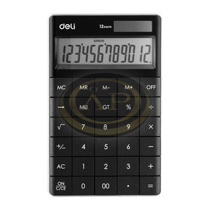 Deli 01589 számológép asztali 12 digit,
