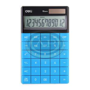 Deli 01589 számológép asztali 12 digit,, kék