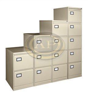 Függőmappatároló-szekrény, 4 fiókos, bézs