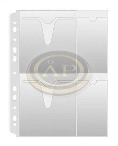 Donau Lefűzhető CD/DVD tasak