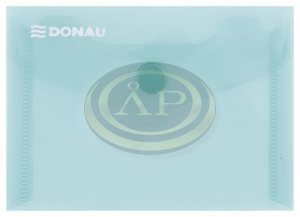 Irattartó tasak Donau A7 PP patentos zöld