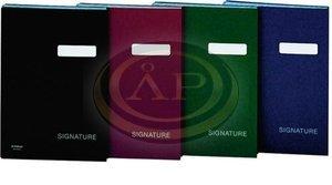 Aláírókönyv Donau A4, fekete