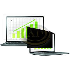 Monitorszűrő, betekintésvédelemmel, 292x165 mm, 13,3'', 16:9 FELLOWES PrivaScreen™, fekete